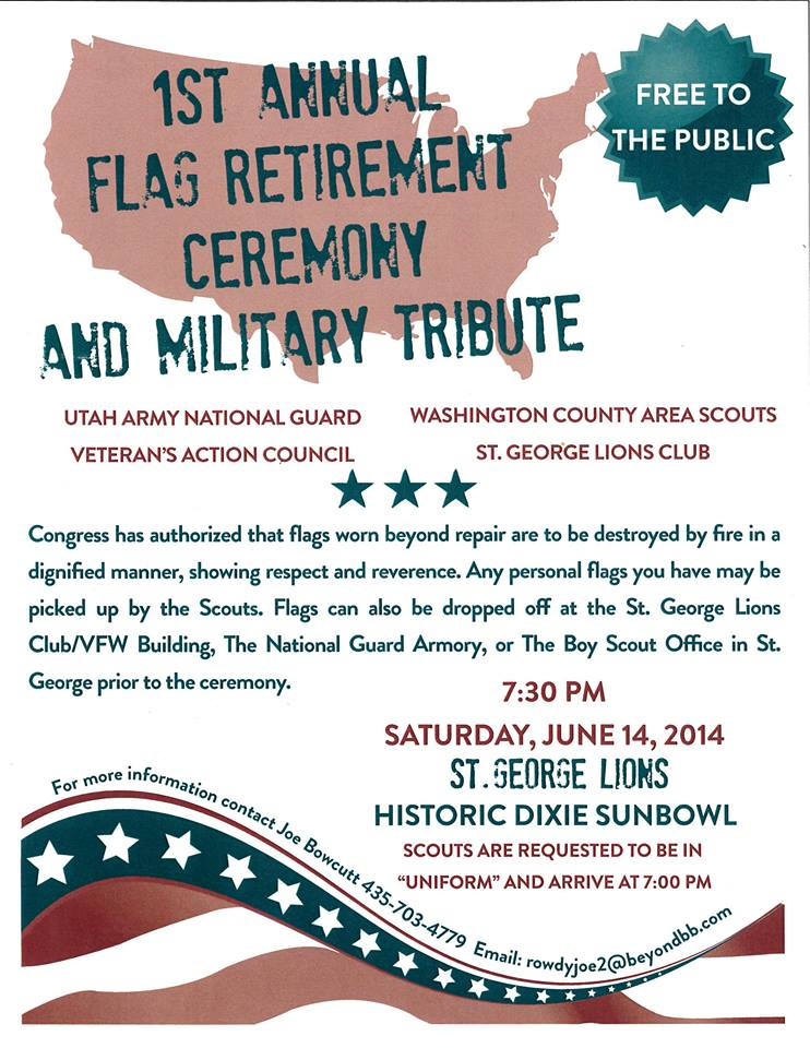 Flag Day Event at Sunbowl.